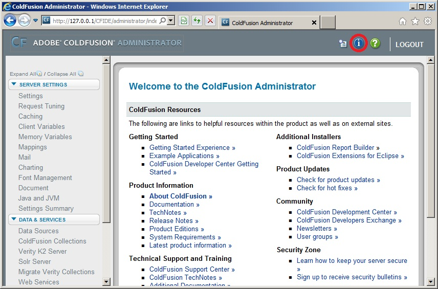 josh adams s blog entering a serial number into the coldfusion 9